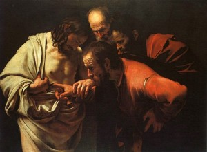 """The Incredulity of St Thomas"" by Caravaggio"