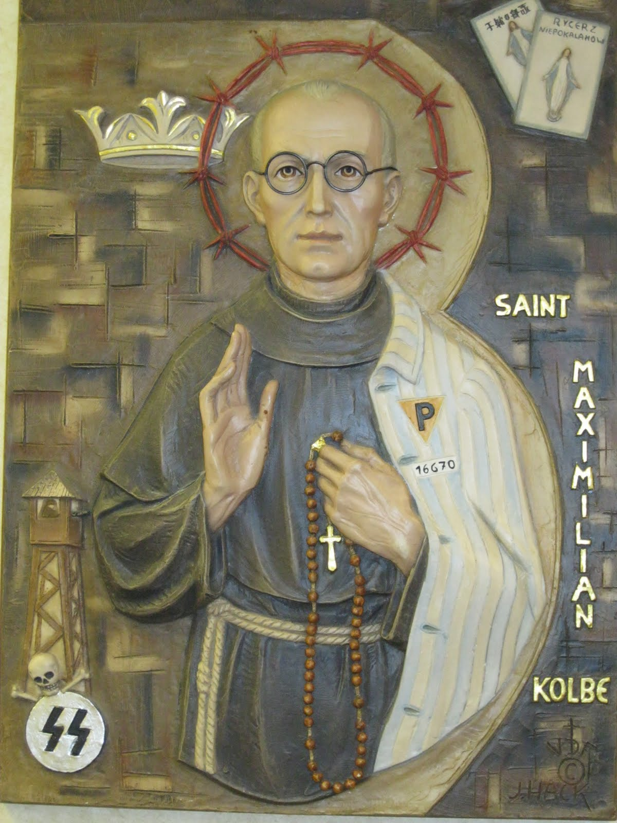 saint maximilian kolbe mundus tranquillare hic. Black Bedroom Furniture Sets. Home Design Ideas
