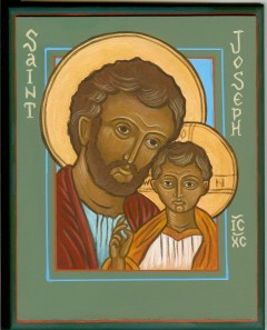 Icon: Jesus and Saint Joseph