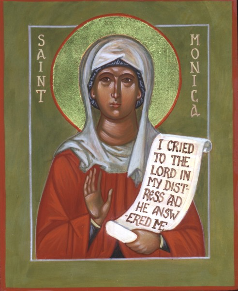 Saint Monica icon
