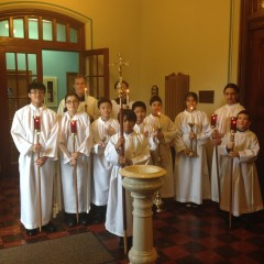 Holy Rosary Altar Servers for the Noon Mass of the Epiphany, 2015