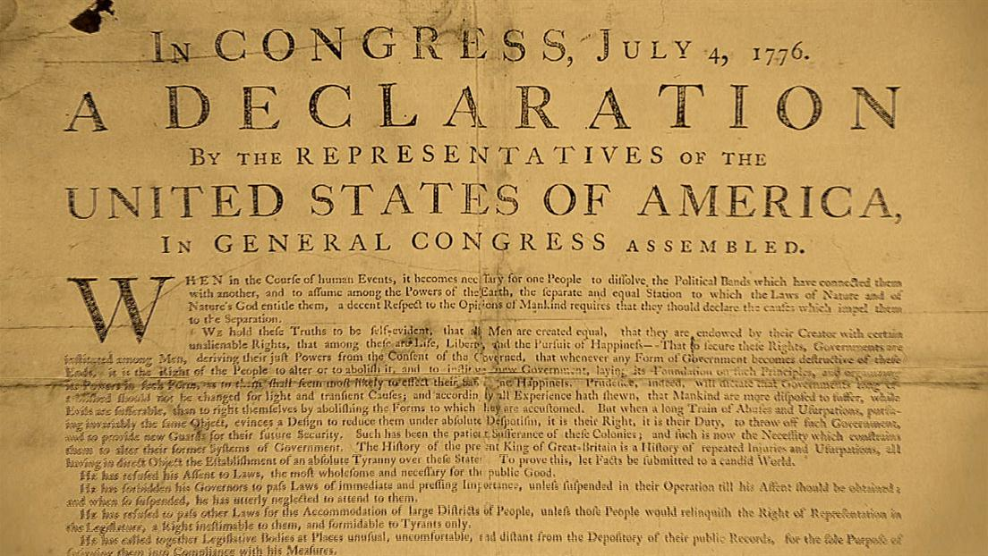 an overview of the objectives and impact of the declaration of independence in america