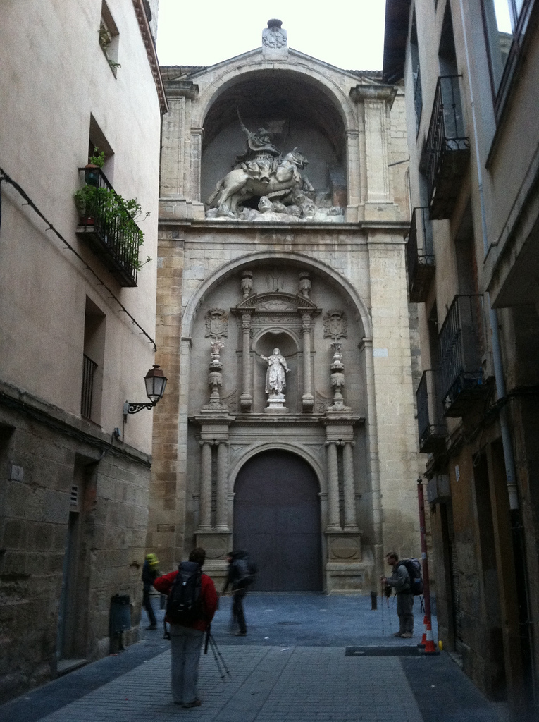 A Hidden Jewel: the Church of Santiago in Logroño