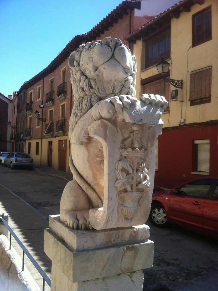 A Lion in León!