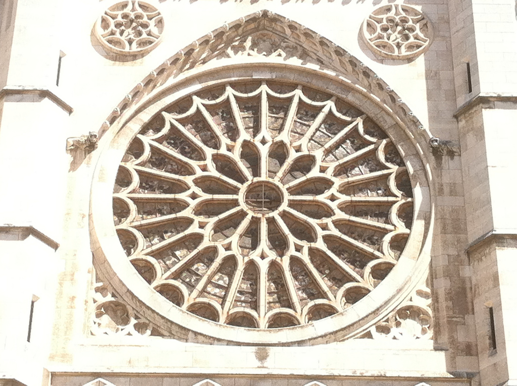 Santa María de León Cathedral - Rose Window